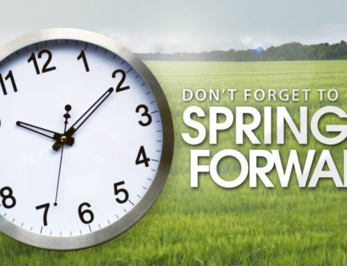Daylight Saving Time Starts This Sunday