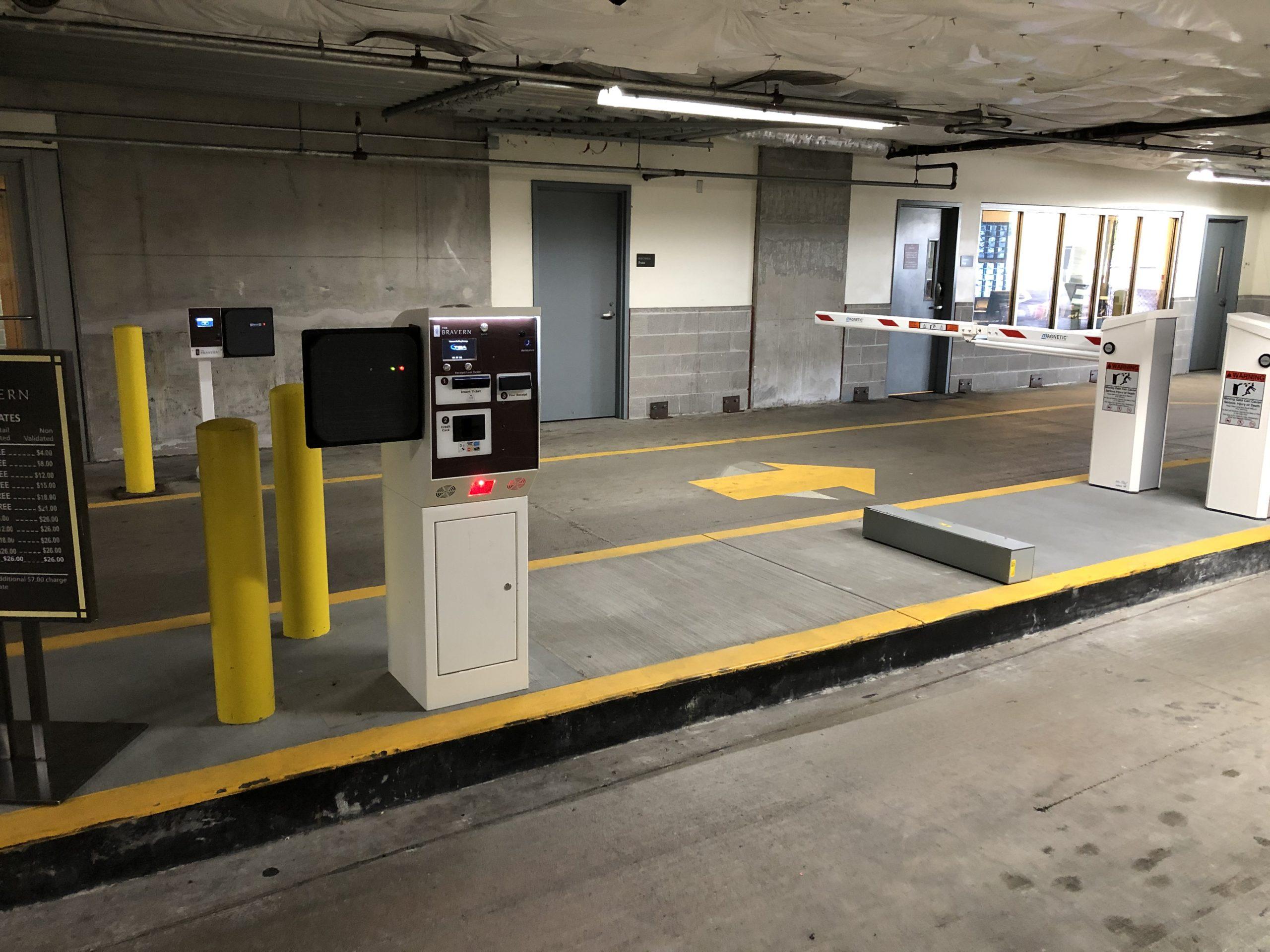 Parking Equipment pay terminal