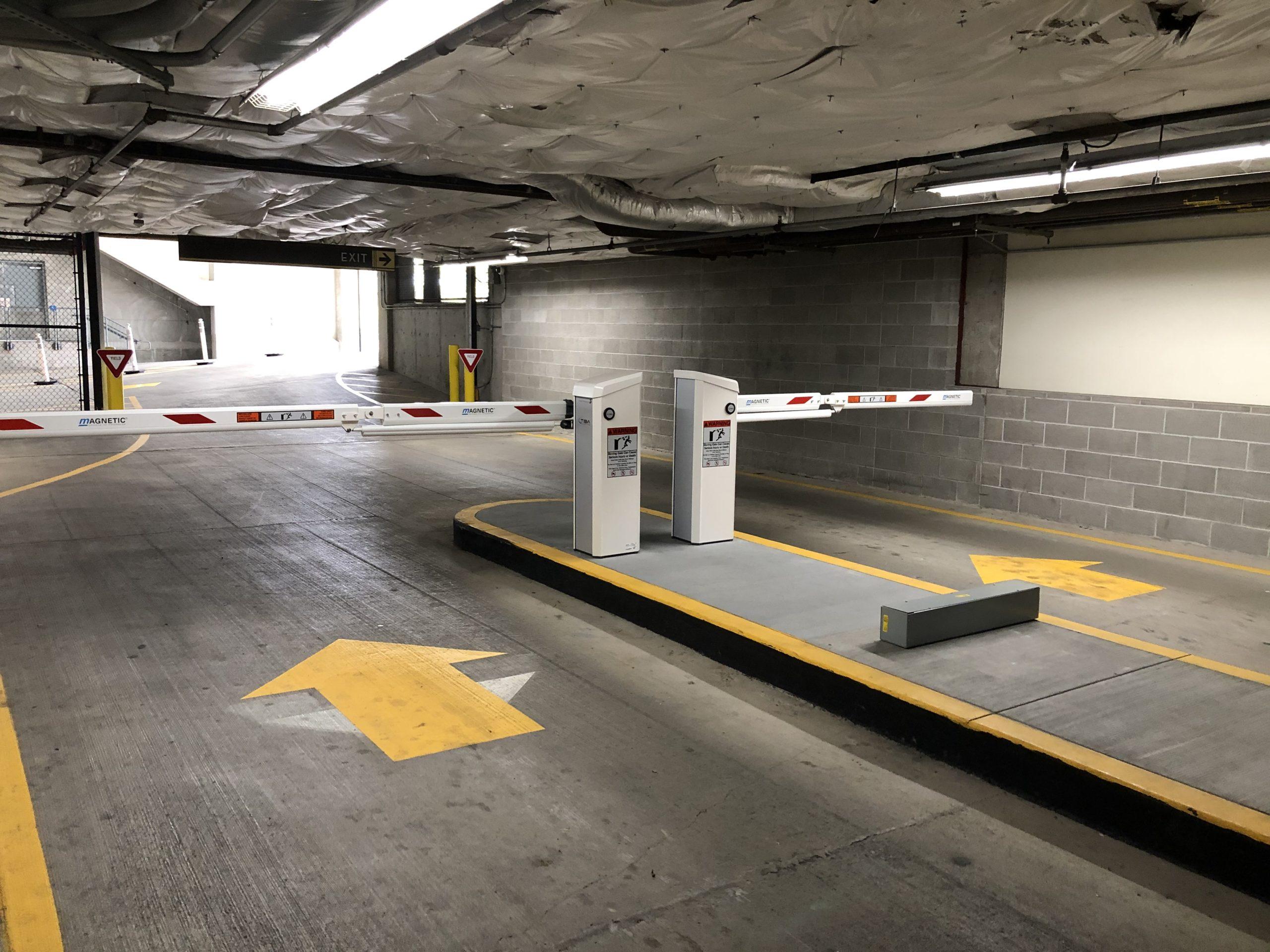 Parking Equipment exit gates